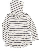 Tea Collection Girl's Stripe Twirl Hoodie