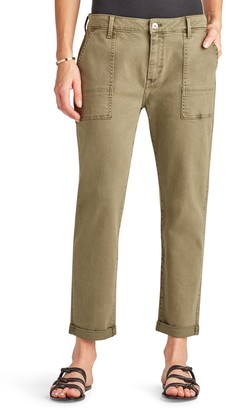 Sam Edelman The Cargo Cuffed Ankle Pants