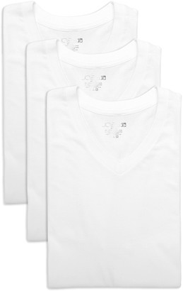 Joe's Jeans Classic Fit V-Neck T-Shirt - Pack of 3