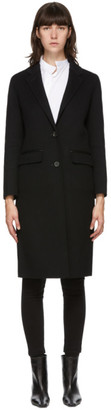 Mackage Black Wool Hens Coat