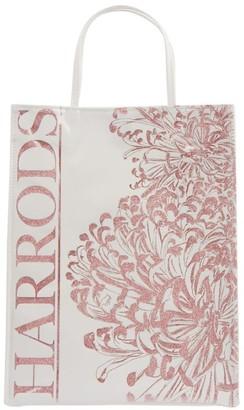 Harrods Medium Flower Burst Shopper Bag