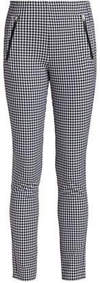 Rag & Bone Simone Zip Pocket Gingham Pants