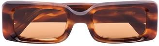 KALEOS Havana Barbarella Tortoiseshell Sunglasses
