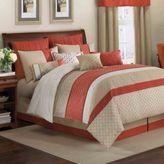 Bed Bath & Beyond Royal Heritage Home® Pelham European Pillow Sham in Orange