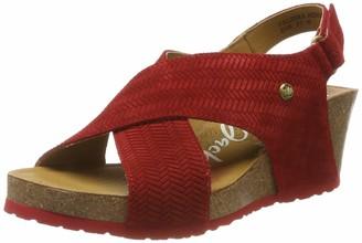 Panama Jack Women's Valeska Menorca Ankle Strap Sandals