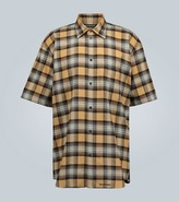 Balenciaga Short-sleeved flannel shirt