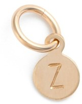 Nashelle Women's Tiny Initial 14K-Gold Fill Coin Charm