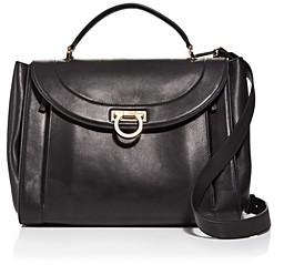Salvatore Ferragamo Sofia Rainbow Leather Saddle Bag (50% off) Comparable value $2,400