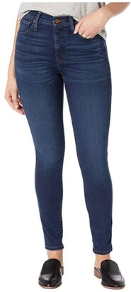 Madewell 10 High-Rise Skinny Jeans in Hayes (Hayes Wash) Women's Shorts
