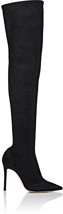 Gianvito Rossi Women's Tech-Fabric Over-the-Knee Boots