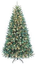 Kurt Adler Pre-Lit Point Pine Tree, 7-Feet