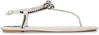 Rene Caovilla Diana crystal-embellished sandals