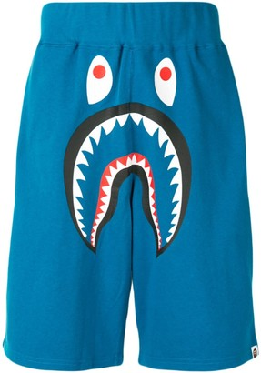 A Bathing Ape Shark Wide sweat shorts