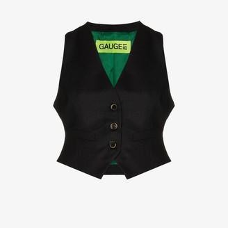 GAUGE81 Toluca cropped waistcoat