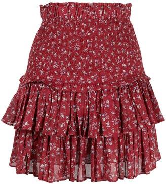 Etoile Isabel Marant Naomi floral-print skirt