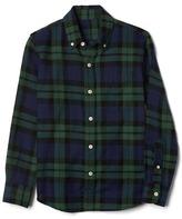 Gap Plaid button-down flannel shirt