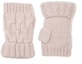 Forever 21 Ribbed Knit Fingerless Gloves
