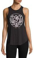 Spiritual Gangster Om Lotus Tank