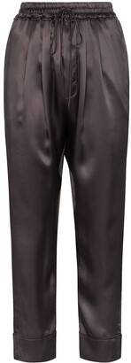 Le Kasha Elasticated Cropped Trousers