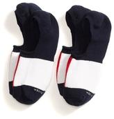 Tommy Hilfiger Colorblock Liner Socks 2pk