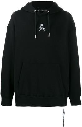 Mastermind Japan Embroidered Skull Logo Hoodie
