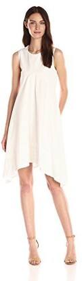 Nanette Lepore Women's Kerchief Hem Swing Dress
