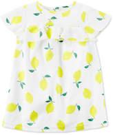 Carter's Lemon-Print Dress, Toddler Girls