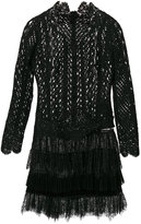 Ermanno Scervino lace dress with fringe