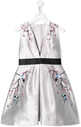 Raspberry Plum Tara dress