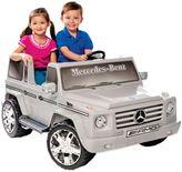 Mercedes Benz Kid Motorz G55 AMG 2-Seater 12-Volt Ride-On in Silver
