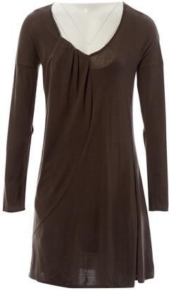 Chloé Brown Wool Dresses