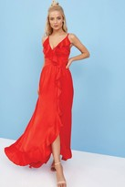 Little Mistress Red Maxi Dress