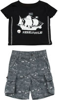 Amy Coe 2-pc. Tee and Shorts Set - Baby Boys 3m-24m