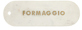 Anthropologie Formaggio Marble Cheese Board, White/Gold, L43cm
