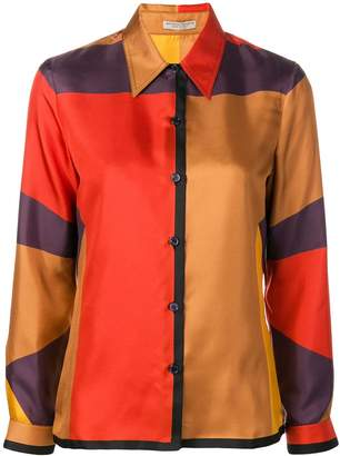 Bottega Veneta colourblock shirt