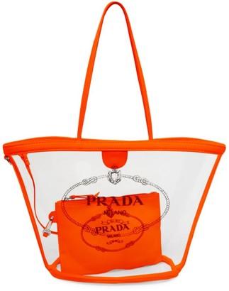 Prada Small Plex Shopper