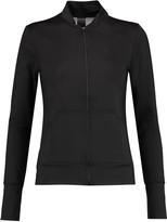 Norma Kamali Stretch-jersey and mesh jacket