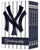 A&E MLB Yankeeography 4-Disc DVD Set
