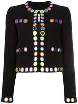 Moschino mirror embroidered jacket