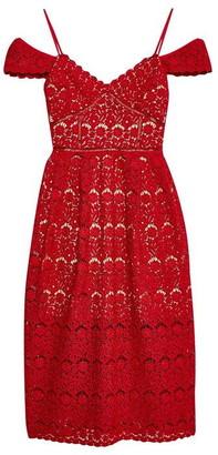 Jack Wills Sleaford Lace Midi Dress
