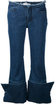 Marques Almeida Marques'almeida - turnover denim jeans - women - Cotton - 6