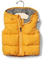 Gap Warmest quilted hoodie vest