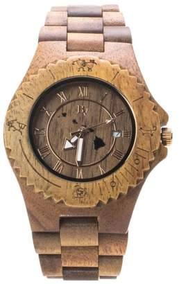 Bean & Vanilla Hawaiian Koa Watch