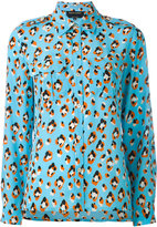 Vanessa Seward animal-print shirt - women - Silk - 36
