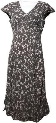 Boden Brown Viscose Dresses