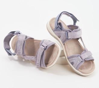 Earth Origins Suede Sport Sandals - Savoy Stevie