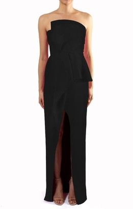Black Halo Jonas Gown