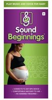 Sound BeginningsTM Prenatal Sounds Delivery System in White