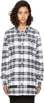 Off-White White Check Rips Shirt