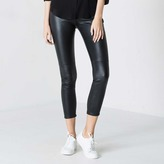 DSTLD High Waisted Ponte Leggings in Black